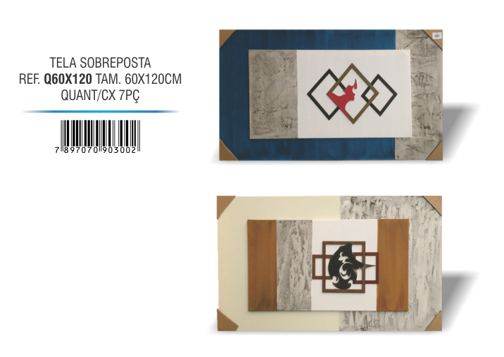 Tela Sobre posta 60x120 - 2