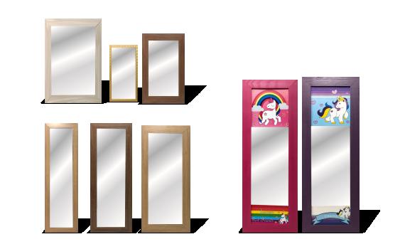 Espelhos Nº 12, 14, 16 e 18